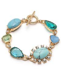 Carolee - Crystal Flex Bracelet - Lyst