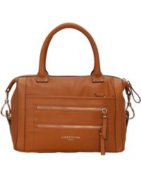 Liebeskind | Toffee Loni Leather Satchel | Lyst