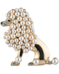 Carolee - Royal Treasures Poodle Pin - Lyst