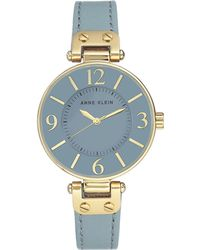Anne Klein - Womens Analog Fashion Strap Watch - Lyst