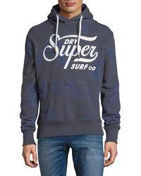 Superdry | Surf Printed Hoodie | Lyst