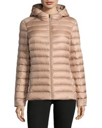Lord & Taylor | Packable Down Puffer Jacket | Lyst