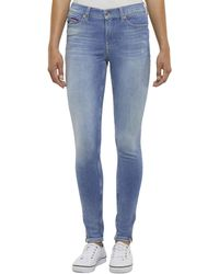 Tommy Hilfiger - Nora Mid Rise Skinny Jeans - Lyst