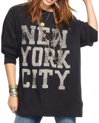 Denim & Supply Ralph Lauren   Oversized Graphic Sweatshirt   Lyst