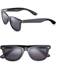 Dockers - 50mm Tipped Wayfarer Sunglasses - Lyst