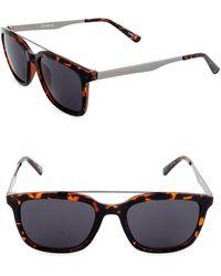 Dockers - Raised Bar 50 Mm Wayfarer Sunglasses - Lyst