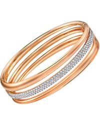 Swarovski - Exact Crystal Bracelet - Lyst