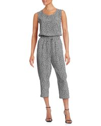 Weekend by Maxmara - Checkered Jumpsuit - Lyst