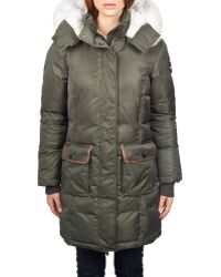 Pajar - Grace Long Length Fur-trimmed Parka - Lyst