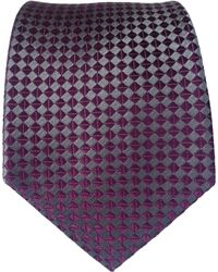 Black Brown 1826 - Square Print Silk Tie - Lyst