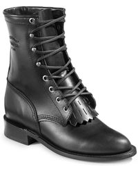 Chippewa - Lace-up Leather Boots - Lyst