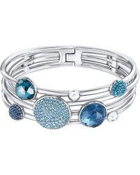 Swarovski - Fun Crystal Bangle Bracelet - Lyst
