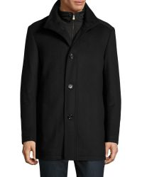 BOSS Green - C-coxtan 5 Wool-cashmere Coat - Lyst