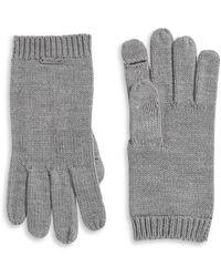 Calvin Klein   Knit Flip Tip Gloves   Lyst