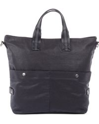 Bugatti - Lino Canvas Shopping Bag - Lyst