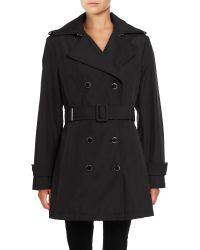CALVIN KLEIN 205W39NYC - Belted Double-breasted Trench Coat - Lyst