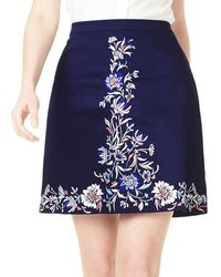 Precis Petite | Embroidered Skirt | Lyst