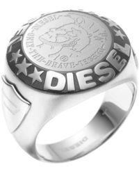 DIESEL - Heren Ring Dx0182040 - Lyst