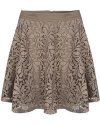 SuperTrash - Sylian Lace Skirt - Lyst