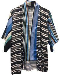 Laundry by Shelli Segal | Striped Graphic Kimono | Lyst