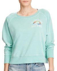 Denim & Supply Ralph Lauren   French Terry Graphic Sweatshirt   Lyst