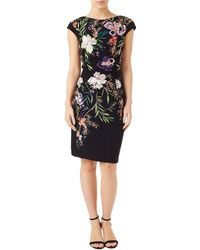 Precis Petite - Embroidered Sheath Dress - Lyst