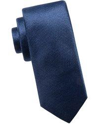 Black Brown 1826 - Slim Silk Tie - Lyst