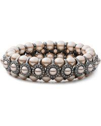 Carolee - Queen Of Gems Beaded Bracelet - Lyst