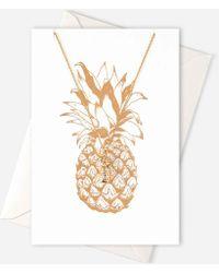 Orelia - Pineapple Nl Giftcard - Lyst