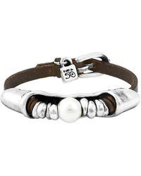 Uno De 50 - Oasis Deserted Silver Bracelet - Lyst