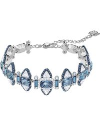 Swarovski - Lake Crystal Bangle Bracelet - Lyst