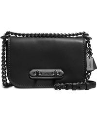 COACH - Swagger Shoulder Bag 20 In Glovetanned Leather - Lyst