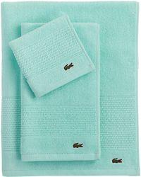 Lacoste - Legend Supima Cotton Wash Cloth - Lyst
