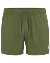 TOPMAN - Munday Slim Fit Swim Shorts - Lyst