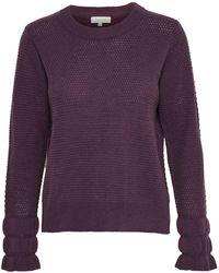 Part Two - Joby Ruffle Cuff Wool-blend Sweater - Lyst