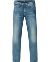 Lee Jeans - Elly Straight Fit Jeans - Lyst