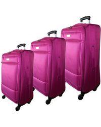 McBrine - Eco-friendly Three-piece 28-inch Luggage Set - Lyst