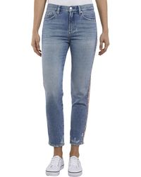 Tommy Hilfiger - Izzy Crop Straight Fit Jeans - Lyst