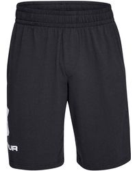 Under Armour - Sportstyle Cotton Graphic Shorts - Lyst