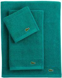 Lacoste - Supima Bath Towel - Lyst