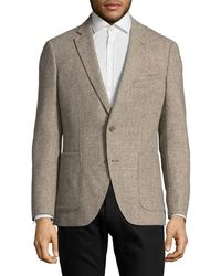 Black Brown 1826 - Italian Herringbone Sportcoat - Lyst