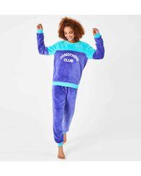 Chelsea Peers - Slogan Pyjama Set - Lyst