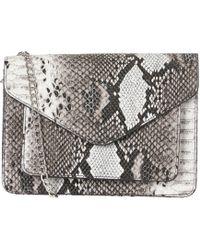 Pieces - Crossbody Tas Met Krokodillen Print - Lyst