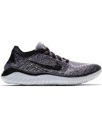 Nike - Womens Free Rn Flyknit 2018 Running Sneakers - Lyst