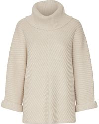 Part Two - Jessamin Wool-blend Ribbed Pullover - Lyst