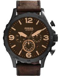 Fossil - Nate Heren Horloge Jr1487 - Lyst