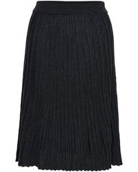 Inwear | Neo Ribbed Wool Skirt | Lyst