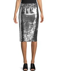 MO&CO. EDITION10 - Sequin Embellished Skirt - Lyst