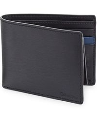 CALVIN KLEIN 205W39NYC - Bi-fold Removable Pass Case Leather Wallet - Lyst