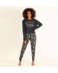 Chelsea Peers - Pyjama Set Met Opdruk - Lyst